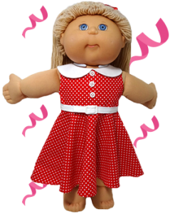 Cabbage Patch Kids Summer Dress Pattern March Madness