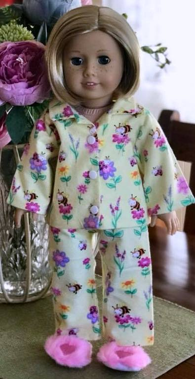 Karen Thomas winter pyjamas pattern