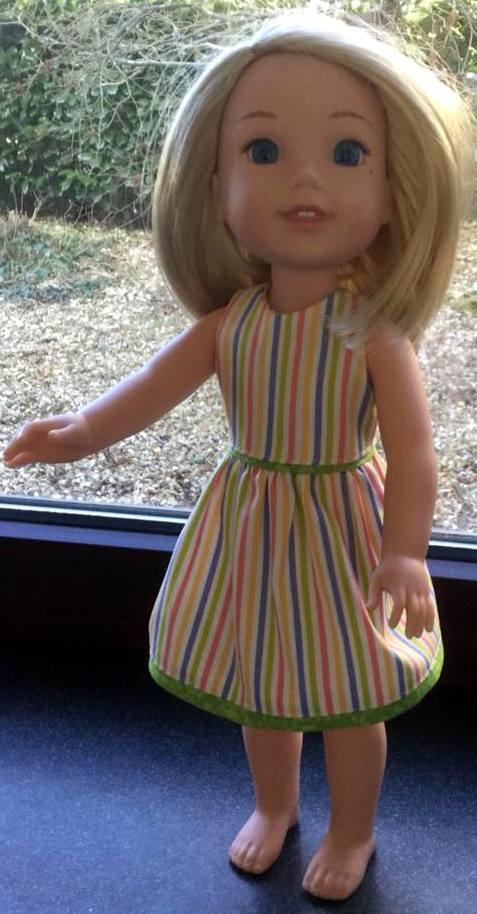 carole workman summer dress pattern stripe