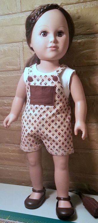 kathy overalls pattern front