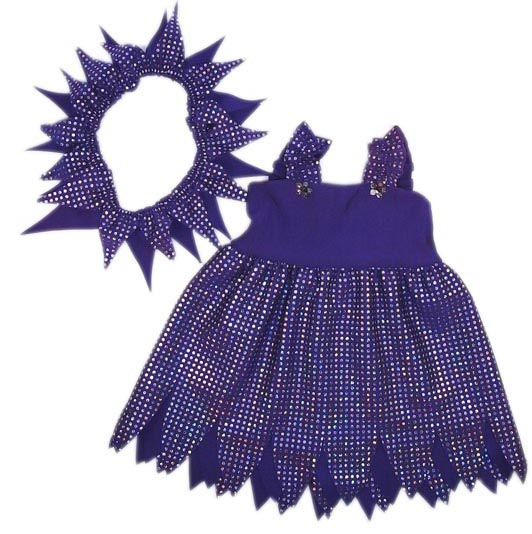 18 Inch American Girl Doll Purple Fairy Costume pattern