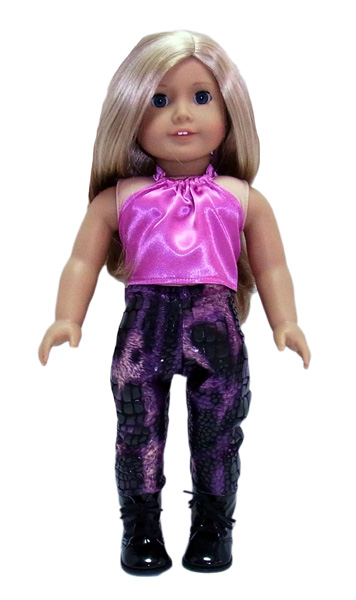 18 Inch American Girl Halter Top and Tights pattern