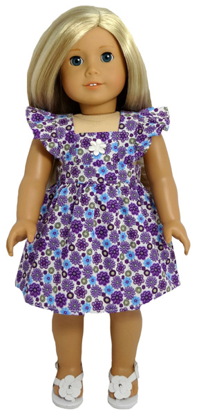 18 Inch American Girl Pinafore Pattern