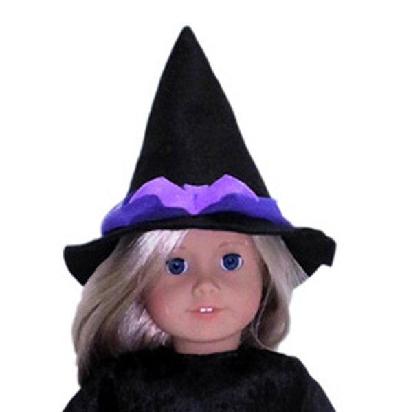 18 Inch American Girl Witches Costume Hat