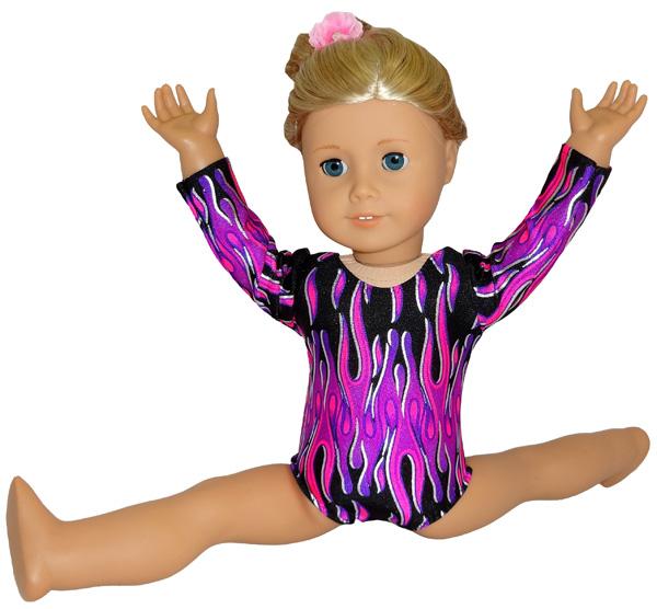 American Girl Doll Clothes Patterns Leotard Gymnastics