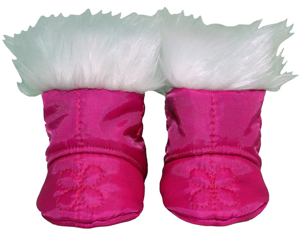 Cabbage Patch Doll Clothes Pattern Boot with Fur Trim