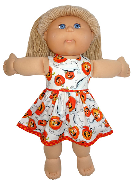Cabbage Patch Halloween Dress doll clothes pattern