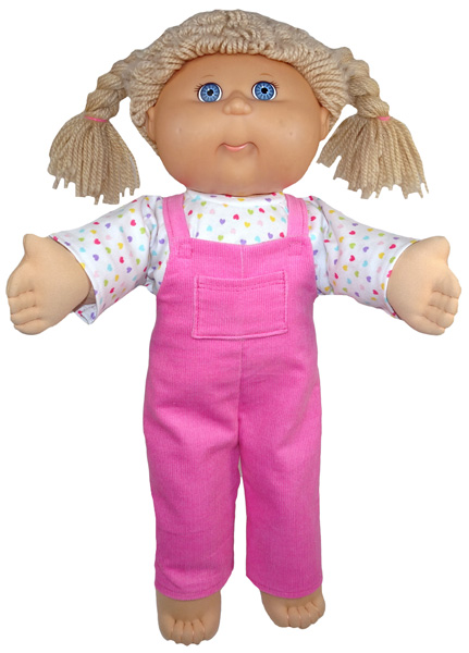 Cabbage Patch Long Overalls Doll Clothes Pattern