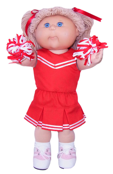 Cabbage Patch Pleated Skirt doll clothes pattern