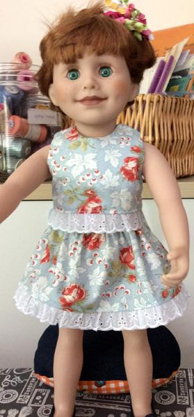 Rosemary Gillanders crop top and skirt pattern