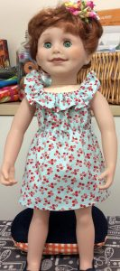 Rosemary Gillanders fun n frilly dress pattern