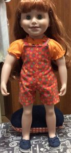 Rosemary Gillanders overalls for all seasons pattern