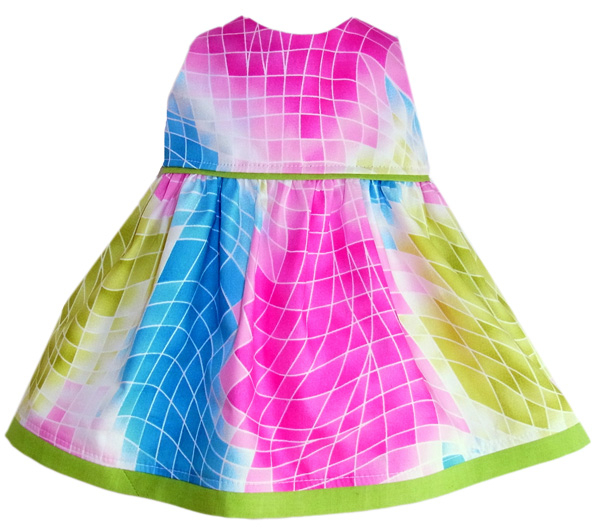 Summer Dress doll clothes pattern