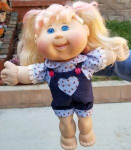 Vera Cabbage Patch Overalls doll clothes pattern