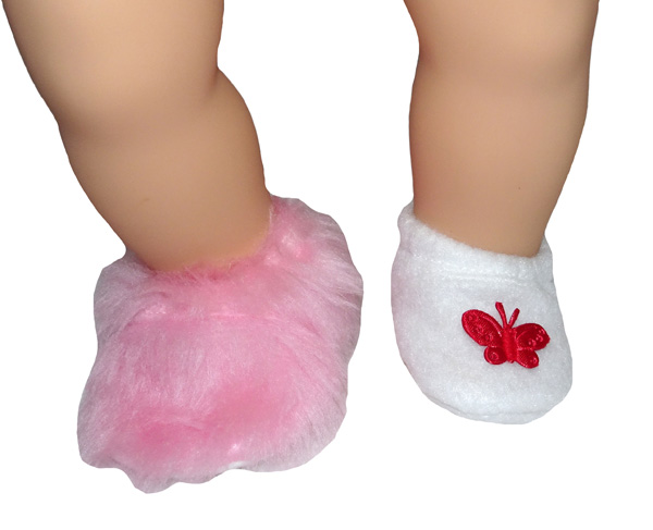 Bitty Baby and Bitty Twins Doll Clothes Pattern 3 ways shoe