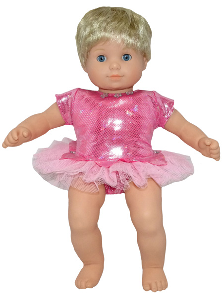 Bitty Baby and Bitty Twins Doll Clothes Pattern ballerina option 2