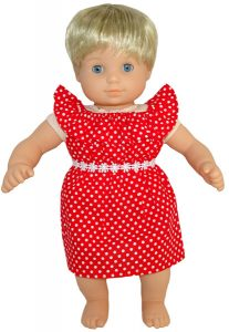 Bitty Baby and Bitty Twins Doll Clothes Pattern fun n frilly dress