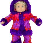 Bitty Baby and Bitty Twins Doll Clothes Pattern funky fur