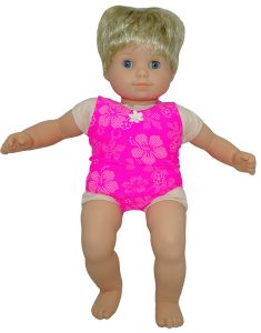 Bitty Baby and Bitty Twins Doll Clothes Pattern one piece swim suit