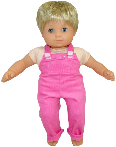Bitty Baby and Bitty Twins Doll Clothes Pattern overalls long American Girl