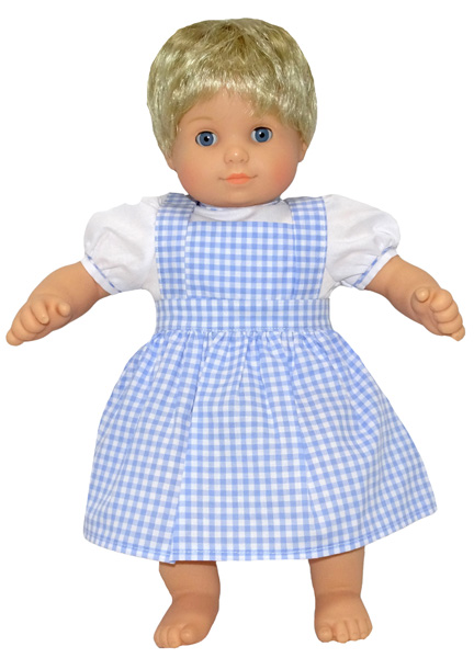 Bitty Baby and Bitty Twins Doll Clothes Pattern pinafore and blouse