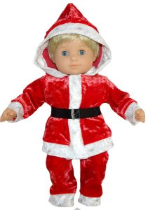 Bitty Baby and Bitty Twins Doll Clothes Pattern santa