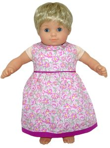 Bitty Baby and Bitty Twins Doll Clothes Pattern summer dress