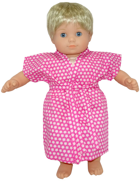 Bitty Baby and Bitty Twins Doll Clothes Pattern summer dressing gown
