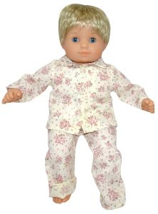 Bitty Baby and Bitty Twins Doll Clothes Pattern winter pjs