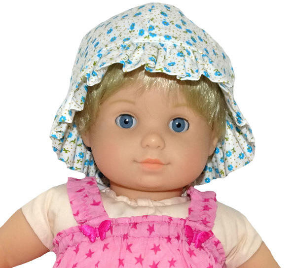 Bitty Baby hat doll clothes pattern