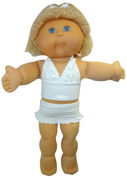 Cabbage Patch Kids White Bikini doll clothes pattern