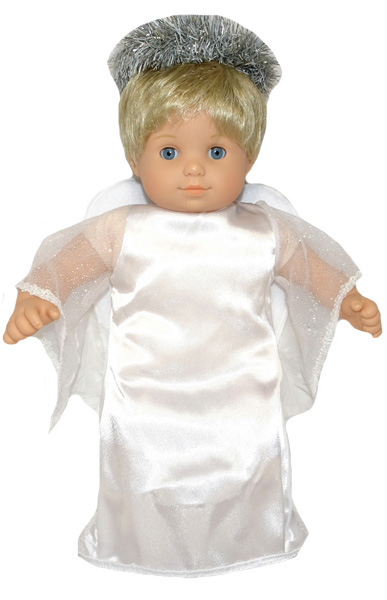 Bitty Baby and Bitty Twins Doll Clothes Pattern Angel Costume