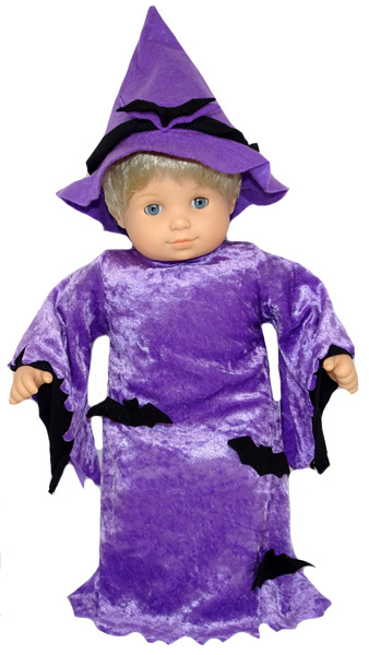 Bitty Baby and Bitty Twins Doll Clothes Pattern Witch Costume