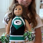 karen Adams cheerleading outfit doll clothes patterns