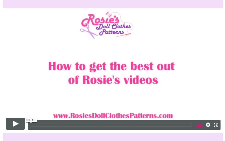 How to Get the Best Out of Rosie's Videos
