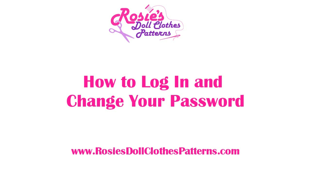 How to Login and Change Your Password