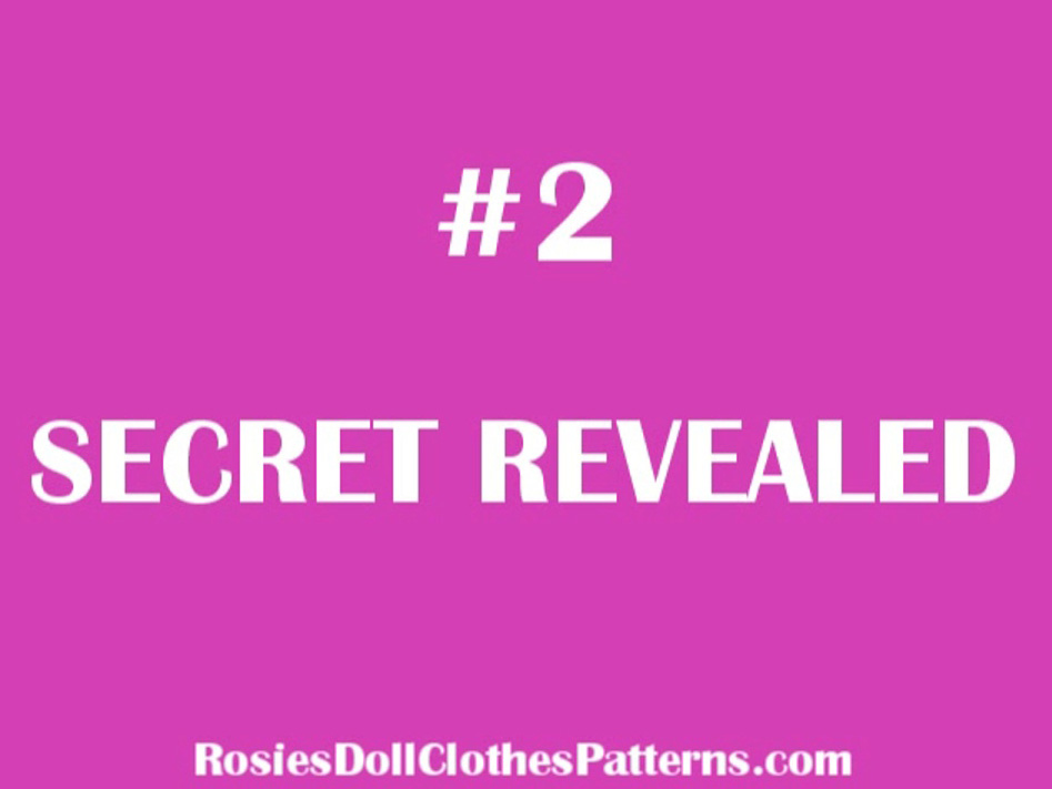 How to Sew Doll Clothes Secret 2