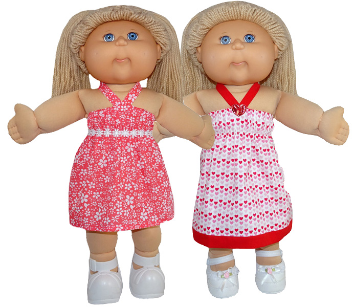 Cabbage Patch Strappy Dress Pattern versions