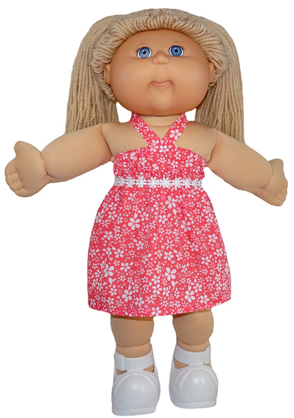 Cabbage Patch Strappy Dress Pattern