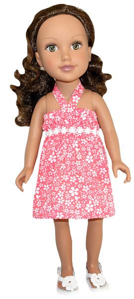 Journey Girl Strappy Dress Pattern