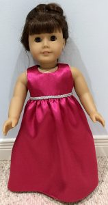 Mary O'Connor American Girl long summer dress pattern