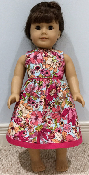 Mary O'Connor American Girl summer dress pattern