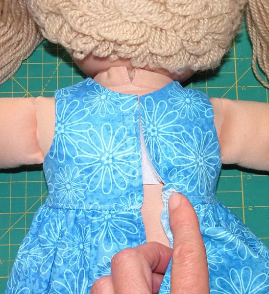 Velcro step 10