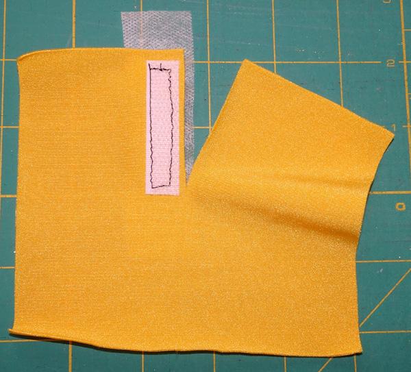 Velcro step 3