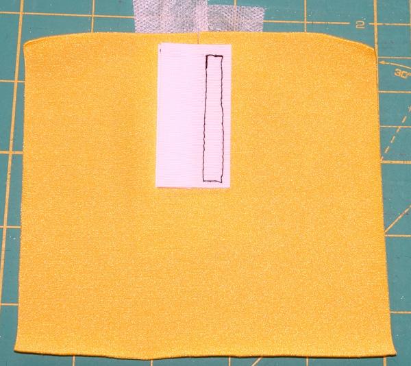 Velcro step 5
