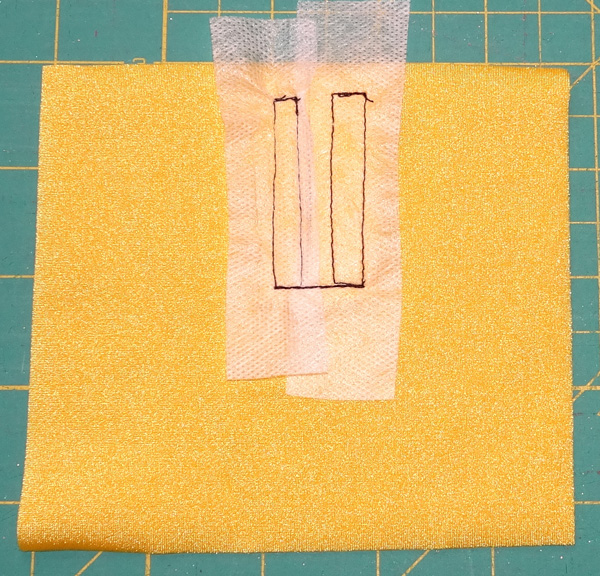 Velcro step 7