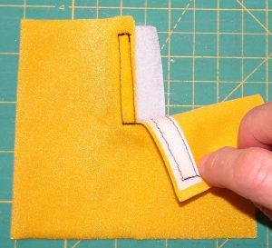 Velcro step 9