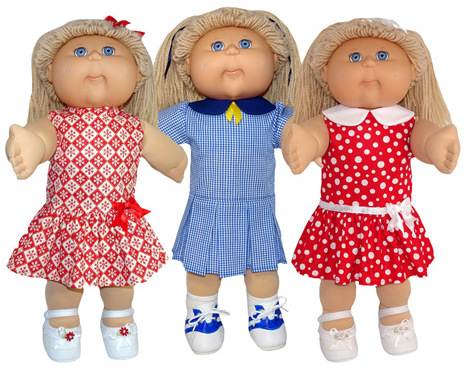 Cabbage Patch Drop Waist Dress 5 Ways Pattern