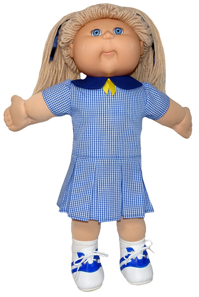 Cabbage Patch Drop Waist Dress school uniform