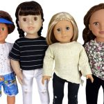 18 Inch Doll Clothes Pattern Trendy Transformable Top four options